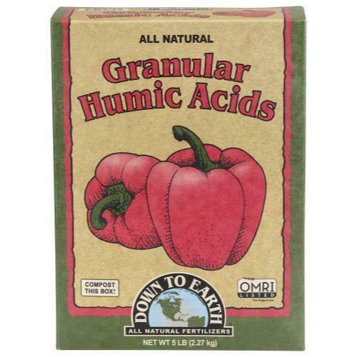 Down To Earth Granular Humic Acid - 5 lb - 1