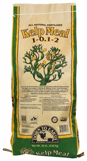 Down To Earth Kelp Meal - 20 lb - 1