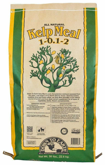 Down To Earth Kelp Meal - 50 lb - 1