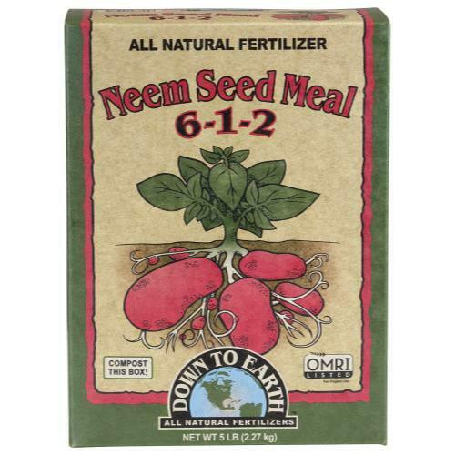 Down To Earth Neem Seed Meal - 5 lb - 1