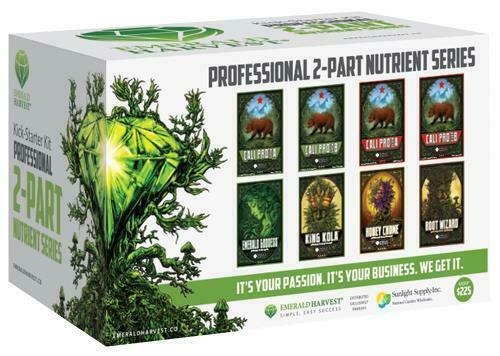 Emerald Harvest Kick-Starter Kit - 2 Part Base - 1