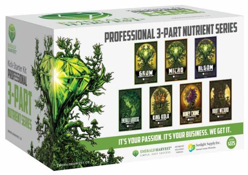 Emerald Harvest Kick-Starter Kit - 3 Part Base - 1
