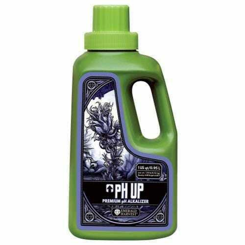 Emerald Harvest pH Up Quart/0.95 Liter (Freight/In-Store Pickup Only) - 1
