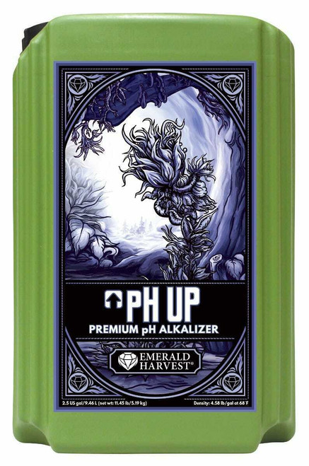 Emerald Harvest pH Up 2.5 Gallon/9.46 Liter (Freight/In-Store Pickup Only) - 1