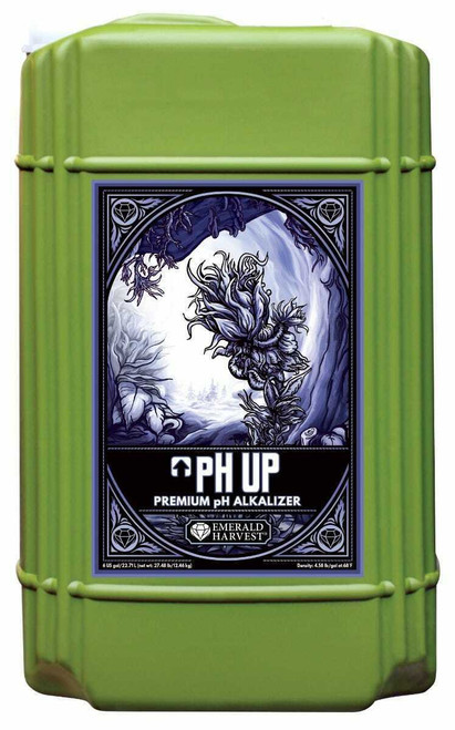 Emerald Harvest pH Up 6 Gallon/22.71 Liter  (Freight/In-Store Pickup Only) - 1