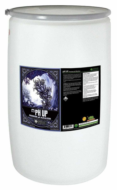 Emerald Harvest pH Up 55 Gallon/208 Liter (Freight Only) - 1