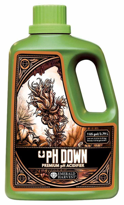 Emerald Harvest pH Down Gallon/3.79 Liter (Freight/In-Store Pickup Only) - 1