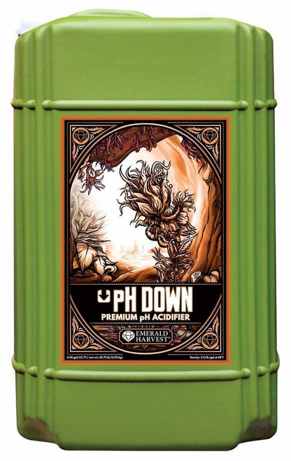 Emerald Harvest pH Down 6 Gallon/22.71 Liter  (Freight/In-Store Pickup Only) - 1