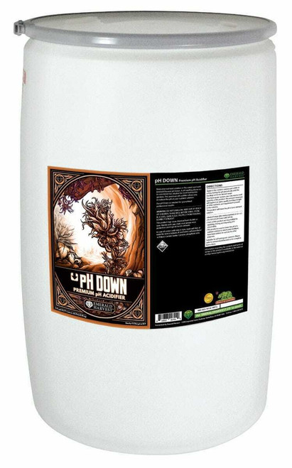 Emerald Harvest pH Down 55 Gallon/208 Liter (Freight Only) - 1