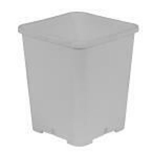 Gro Pro Premium White Square Pot 7 in x 7 in x 9 in - 1