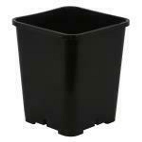 Gro Pro Premium Black Square Pot 7 in x 7 in x 9 in - 1