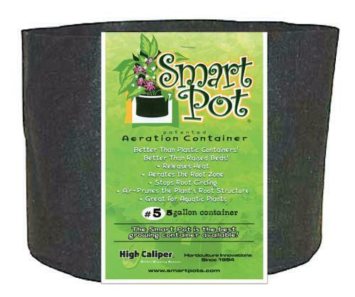 Smart Pot Black 5 Gallon - 1