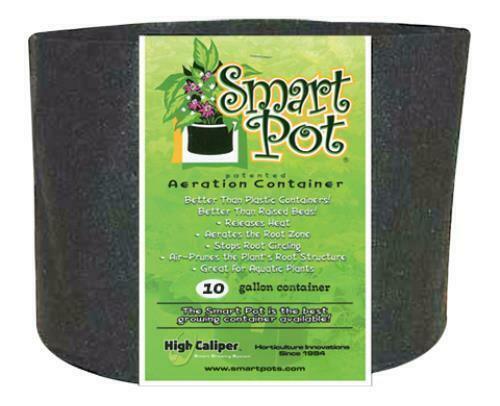 Smart Pot Black 10 Gallon - 1