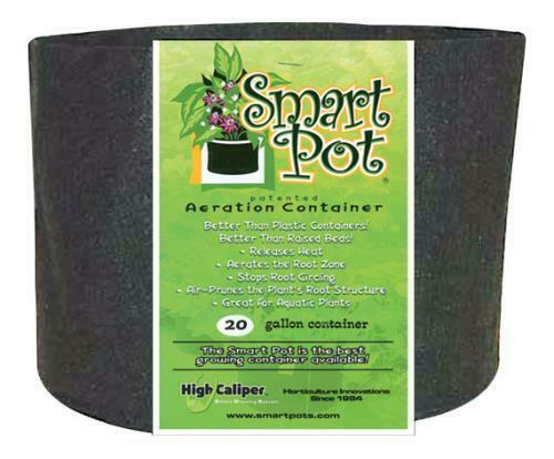 Smart Pot Black 20 Gallon - 1