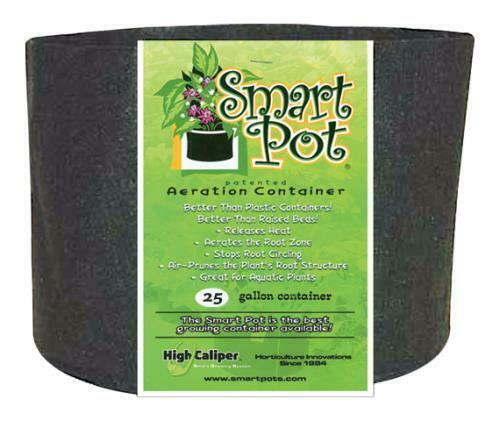 Smart Pot Black 25 Gallon - 1