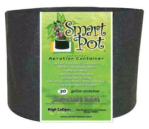 Smart Pot Black 30 Gallon - 1