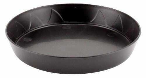 Gro Pro Heavy Duty Black Saucer - 6 in (100/Cs)(Must buy 100) - 1