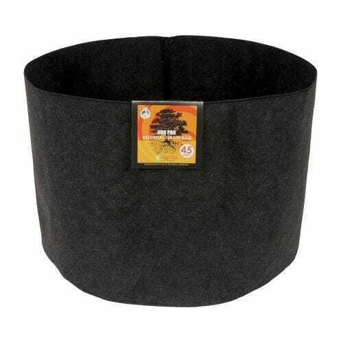 Gro Pro Essential Round Fabric Pot - Black 45 Gallon - 1