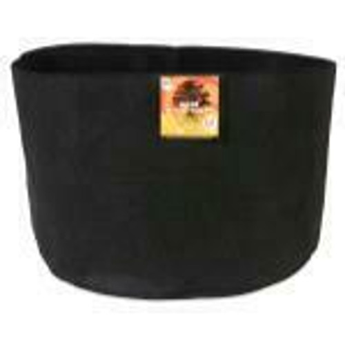 Gro Pro Essential Round Fabric Pot - Black 65 Gallon - 1