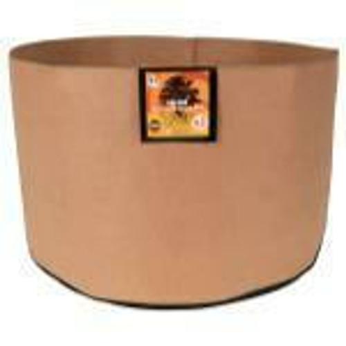 Gro Pro Essential Round Fabric Pot - Tan 65 Gallon - 1