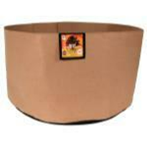 Gro Pro Essential Round Fabric Pot - Tan 100 Gallon - 1