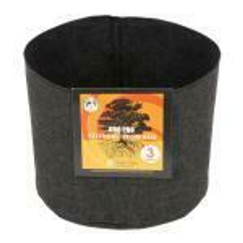 Gro Pro Essential Round Fabric Pot - Black 3 Gallon - 1
