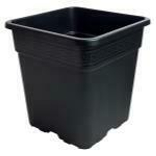 Gro Pro Black Square Pot 1.5 Gallon - 1