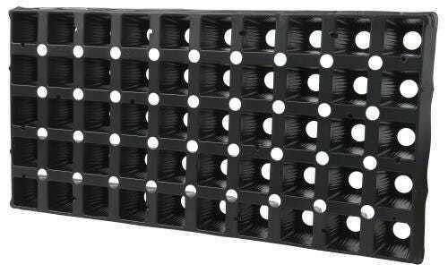 Super Sprouter 50 Cell Square Plug Tray Insert (70/Cs)(Must buy 70) - 1