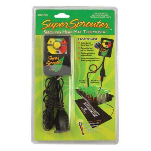 Super Sprouter Seedling Heat Mat Thermostat - 1