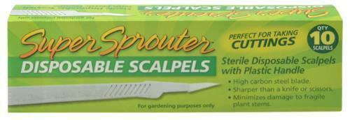Super Sprouter Sterile Disposable Scalpel - 1