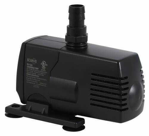 EcoPlus Eco 264 Fixed Flow Submersible/Inline Pump 290 GPH - 1