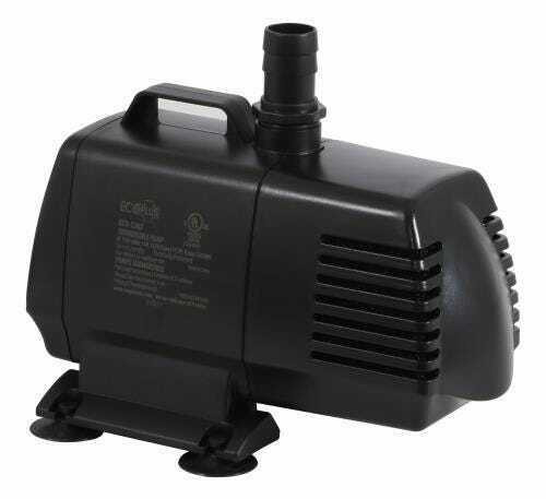 EcoPlus Eco 1267 Fixed Flow Submersible/Inline Pump 1347 GPH - 1