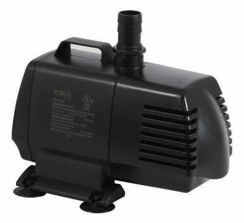 EcoPlus Eco 1267 Fixed Flow Submersible/Inline Pump 1347 GPH - 1
