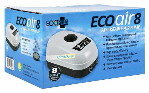 EcoPlus Eco Air 8 Eight Outlet - 13 Watt 380 GPH - 1
