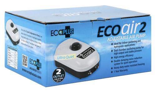 EcoPlus Eco Air 2 Two Outlet - 3 Watt 126 GPH - 1