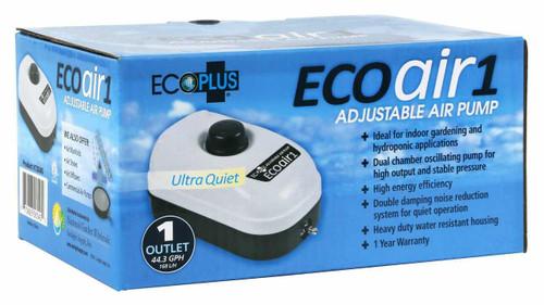 EcoPlus Eco Air 1 Plus One Outlet - 2 Watt 44 GPH - 1