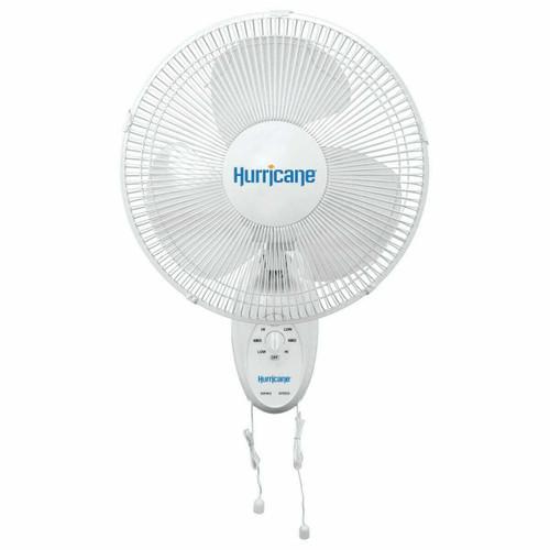 Hurricane Supreme Oscillating Wall Mount Fan 16 in (48/Plt) - 1