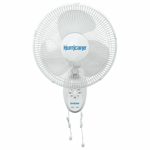 Hurricane Supreme Oscillating Wall Mount Fan 16 in (48/Plt) - 1