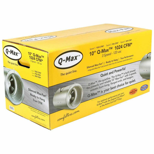 Can-Fan Q-Max 10 in 1024 CFM - 1