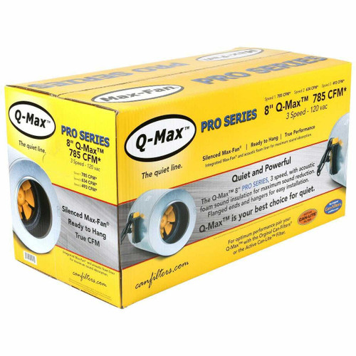 Can-Fan Q-Max 8 in 785 CFM - 1