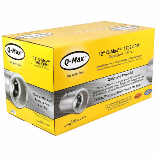 Can-Fan Q-Max 12 in 1709 CFM - 1