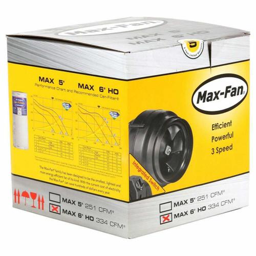 Can-Fan Max Fan 6 in 334 CFM - 1
