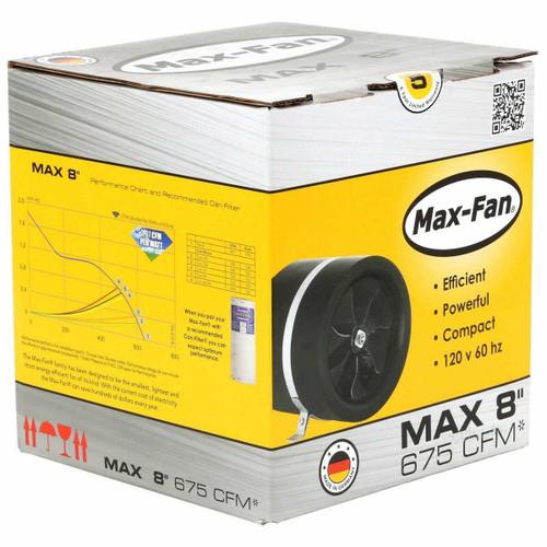 Can-Fan Max Fan 8 in 675 CFM - 1