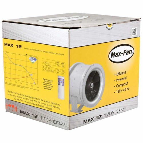 Can-Fan Max Fan 12 in 1709 CFM - 1