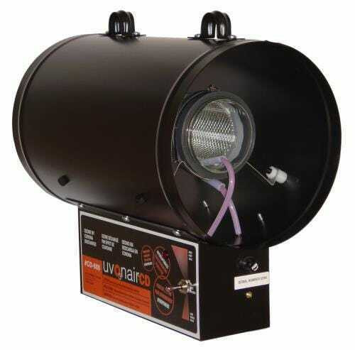 Uvonair CD Inline Duct Ozonator 8 in - 1 Cell - 1