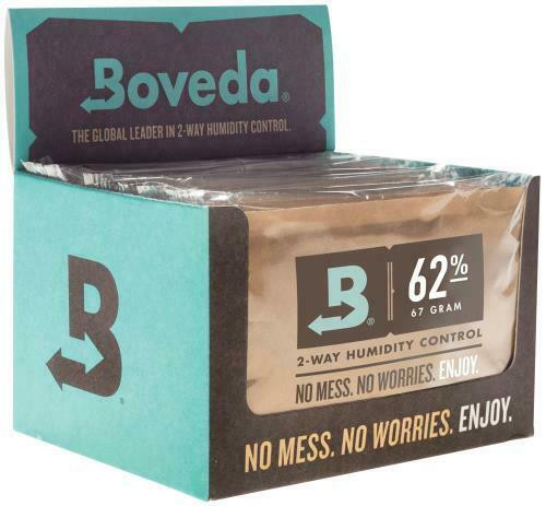 Boveda 67g 2-Way Humidity 62% (12/Pack) Must buy 12 - 1