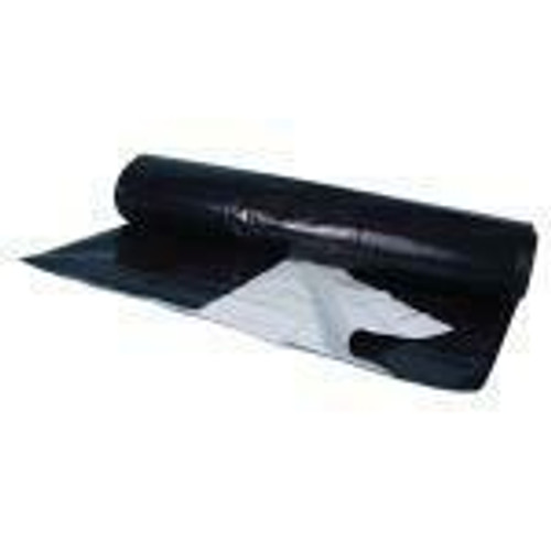 Berry Plastics Black/White Poly Sheeting Commercial Size - 5 mil 50 ft x 150 ft (Freight/In-Store Pickup Only) - 1
