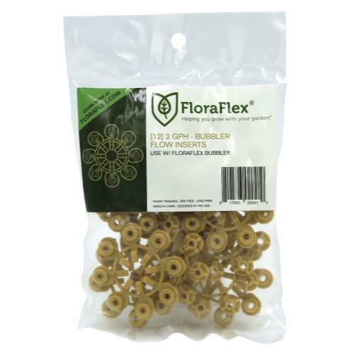 FloraFlex Bubbler Flow Insert 2 GPH (1=12/Pack) - 1