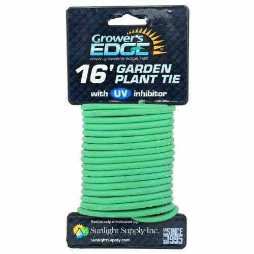 Grower's Edge Soft Garden Plant Tie 5mm - 16 ft - 1