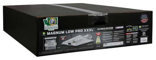 Magnum Low Pro XXXL 8 in Air-Cooled Reflector (Freight/In-Store Pickup Only) - 1